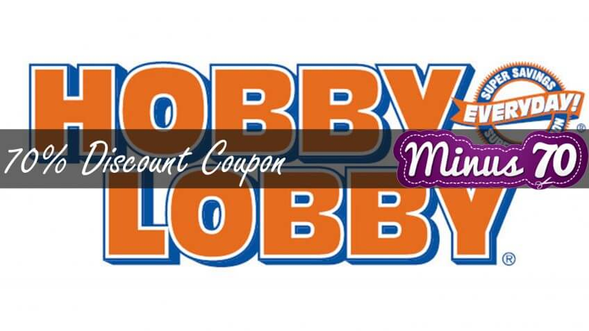 Hobbylobby discount coupon