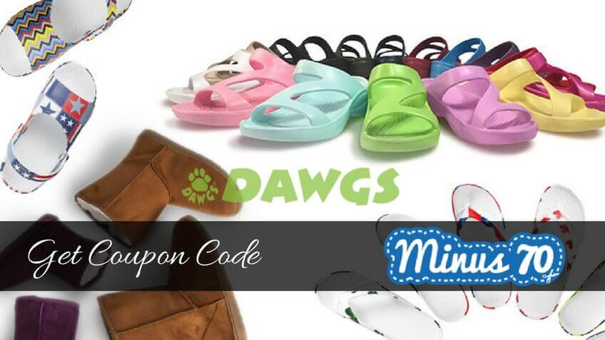DAWGS US 70 OFF on Footwear coupon code