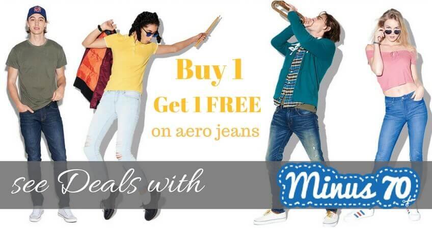 buy 1 get 1 earopostale jeans deals